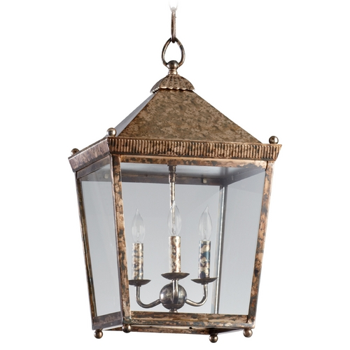 Cyan Design Cyan Design Ranch Rustic Acid Pendant Light with Square Shade 05175