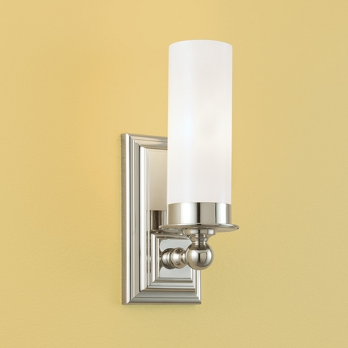 Norwell Lighting Norwell Lighting Richmond Polished Nickel Sconce 9730-PN-MO