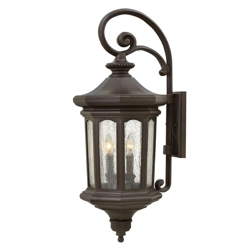 Hinkley Lighting Hinkley Lighting Raley Oil Rubbed Bronze Outdoor Wall Light 1605OZ
