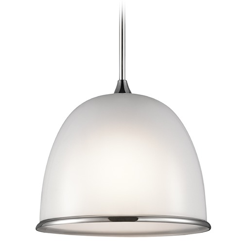 Kichler Lighting Kichler Lighting Rory Pendant Light with Bowl / Dome Shade 42952CH
