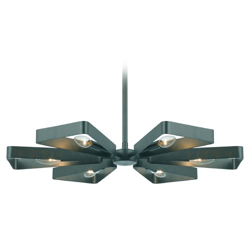 Crystorama Lighting Crystorama Lighting Luna Gray Chandelier 596-GY
