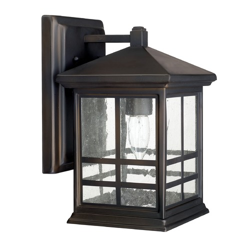 Capital Lighting Capital Lighting Preston Old Bronze Outdoor Wall Light 9911OB