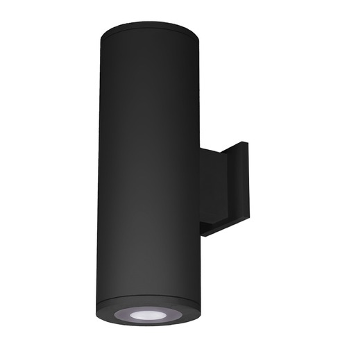 WAC Lighting 6-Inch Black LED Ultra Narrow Tube Architectural Wall Light 3000K 180LM DS-WS06-U30B-BK