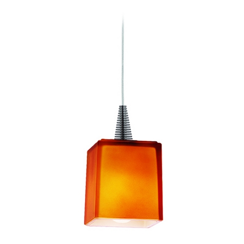 Access Lighting Modern Low Voltage Mini-Pendant Light 94918-BS/AMB