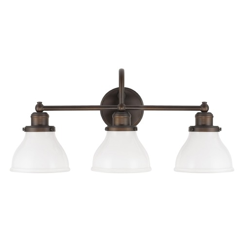 Capital Lighting Capital Lighting Baxter Burnished Bronze Bathroom Light 8303BB-128