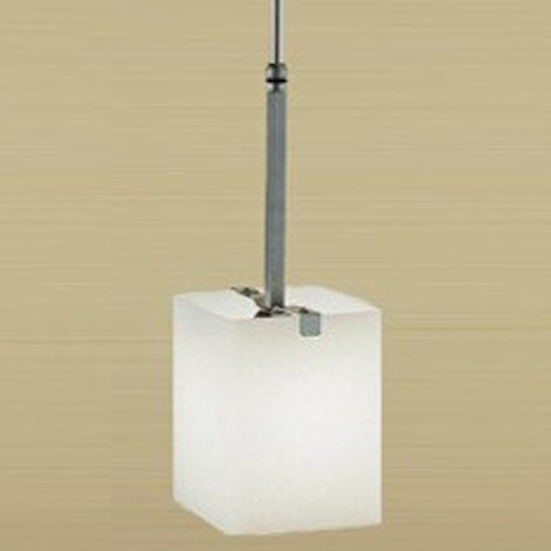 Illuminating Experiences Illuminating Experiences Symmetry Mini-Pendant Light with Square Shade SYMMETRY6GSN