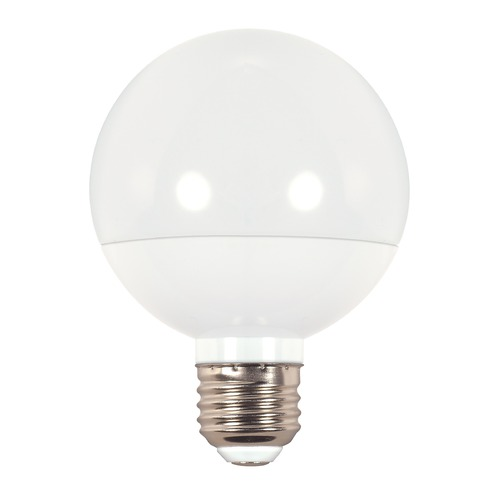 Satco Lighting LED G25 Light Bulb Medium Base 3000K - 40-Watt Equivalent Dimmable S9201