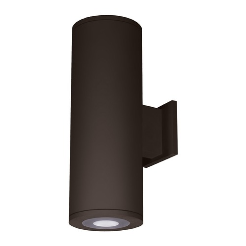 WAC Lighting 6-Inch Bronze LED Ultra Narrow Tube Architectural Wall Light 3000K 180LM DS-WS06-U30B-BZ
