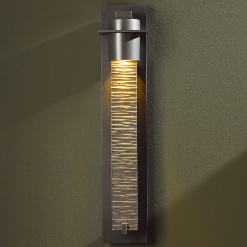 Hubbardton Forge Lighting Hubbardton Forge Lighting Airis Bronze Outdoor Wall Light 307920-SKT-05-ZL0221