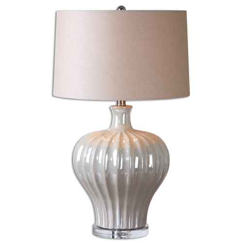 Uttermost Lighting Uttermost Capolona Pearl Glaze Lamp 26201