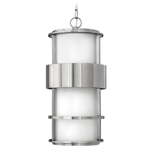 Hinkley Lighting Hinkley Lighting Saturn Stainless Steel LED Outdoor Hanging Light 1902SS-LED