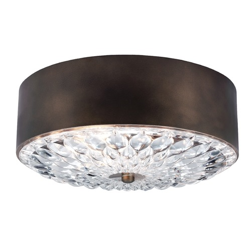 Feiss Lighting Feiss Lighting Botanic Dark Aged Brass Flushmount Light FM445DAGB