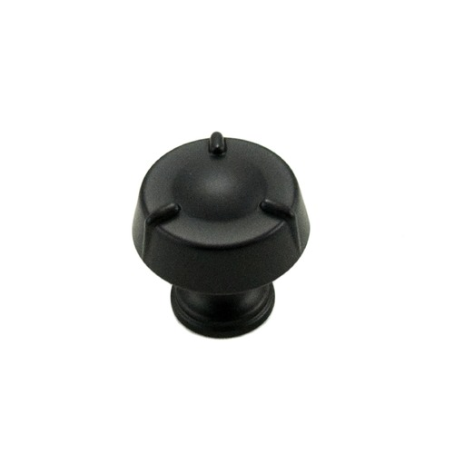 RK International Small Fullerton Knob CK126BL