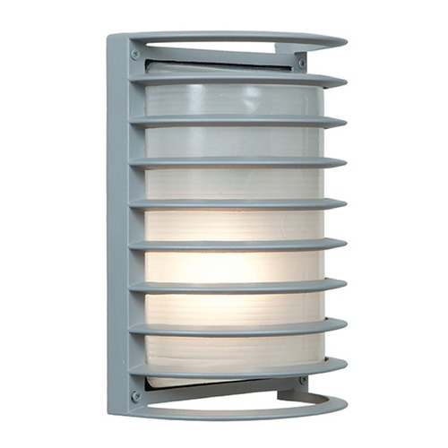 Access Lighting Access Lighting Bermuda Satin Nickel Outdoor Wall Light 20010MG-SAT/RFR