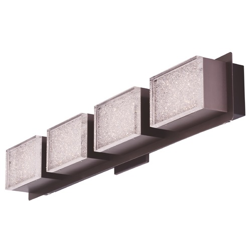 ET2 Lighting Pizzazz LED Coffee LED Bathroom Light E24464-160COF