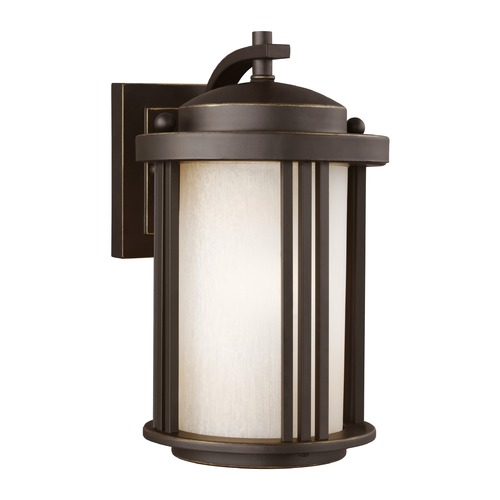 Sea Gull Lighting Sea Gull Lighting Crowell Antique Bronze LED Outdoor Wall Light 8547901EN3-71