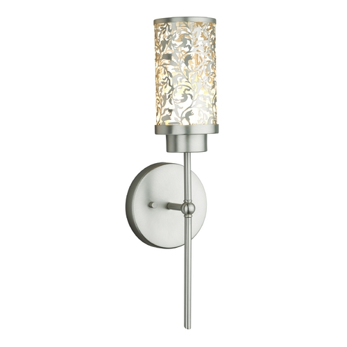 Philips Lighting Modern LED Sconce Wall Light in Brushed Nickel Finish M411378