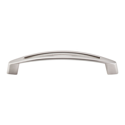 Top Knobs Hardware Modern Cabinet Pull in Brushed Satin Nickel Finish M389
