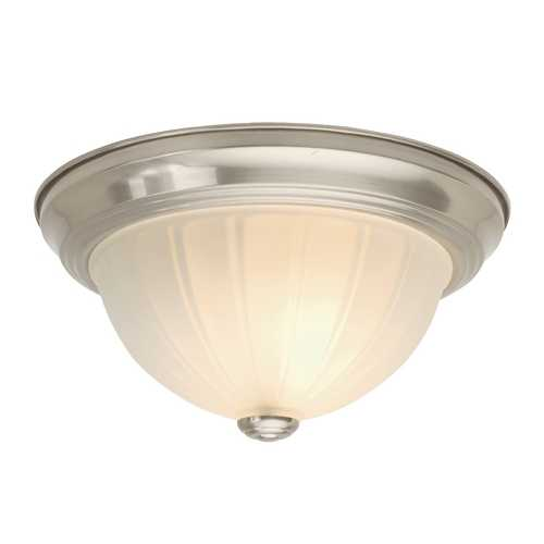 Design Classics Lighting 11-Inch Flushmount Ceiling Light 911 SN