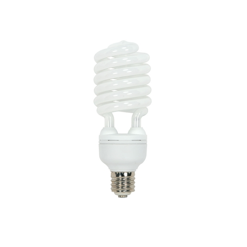 Satco Lighting 65-Watt Warm White Mogul Base Compact Fluorescent Light Bulb S7387