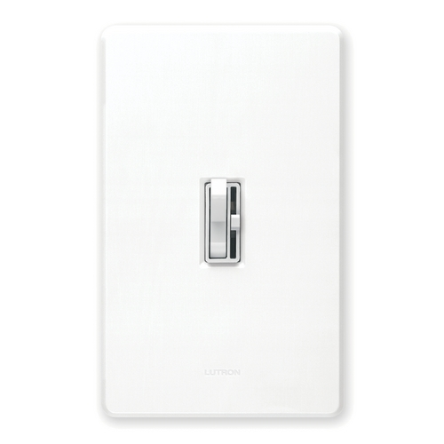Lutron Dimmer Controls Magnetic Low-Voltage Dimmer Switch AYLV-603P-WH