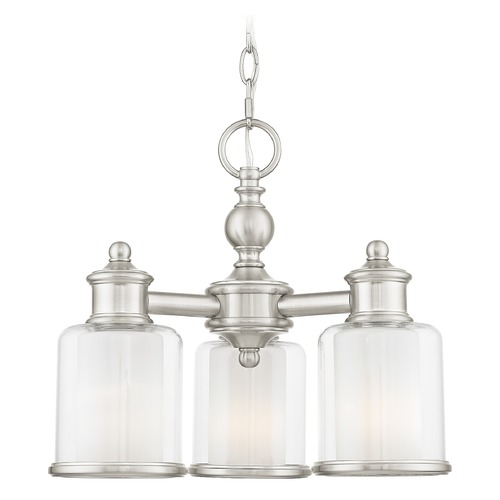 Livex Lighting Livex Lighting Middlebush Brushed Nickel Mini-Chandelier 40203-91