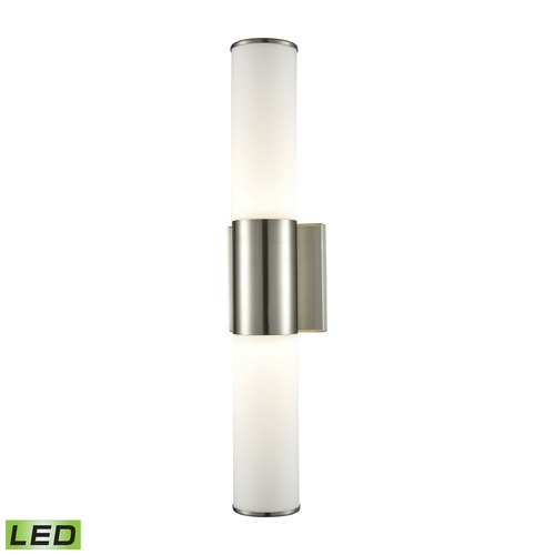 Alico Industries Lighting Alico Lighting Maxfield Satin Nickel LED Sconce WSL820-10-16M