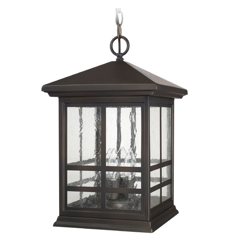 Capital Lighting Capital Lighting Preston Old Bronze Outdoor Hanging Light 9914OB