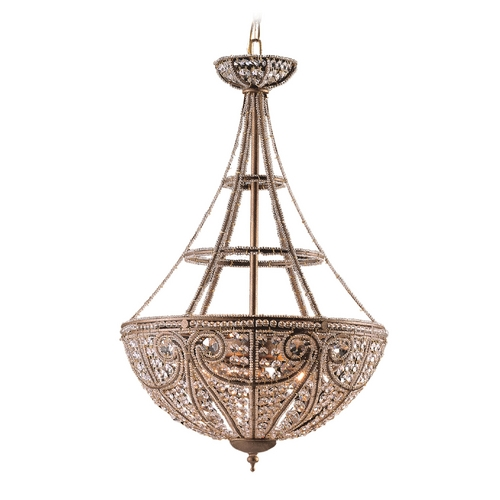 Elk Lighting Pendant Light in Dark Bronze Finish 5965/4