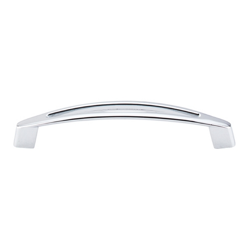 Top Knobs Hardware Modern Cabinet Pull in Polished Chrome Finish M390