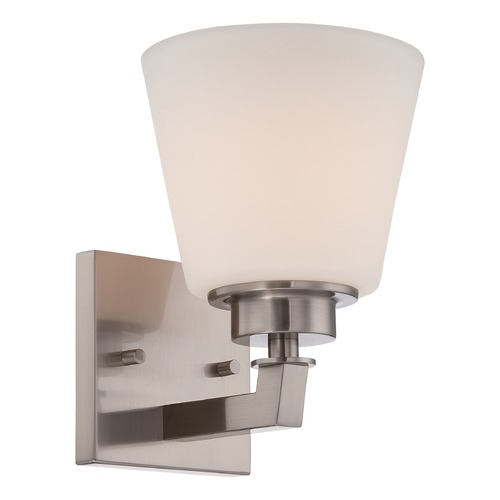 Nuvo Lighting Nuvo Lighting Mobili Brushed Nickel Sconce 60/5451