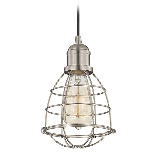 Savoy House Savoy House Satin Nickel Mini-Pendant Light 7-4130-1-SN