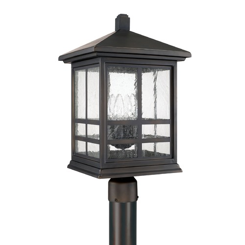 Capital Lighting Capital Lighting Preston Old Bronze Post Light 9915OB