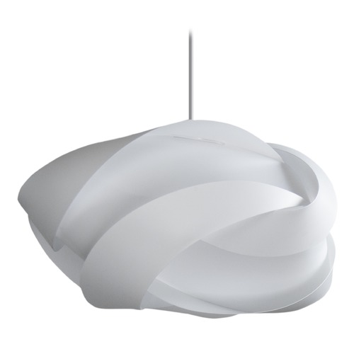 UMAGE UMAGE White Pendant Light with White Polycarbonate Shade 2163_4009