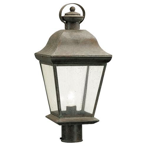 Olde Brick Outdoor Post Light 9909Ob