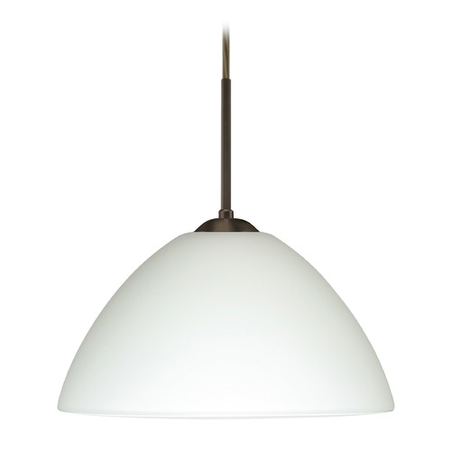 Besa Lighting Besa Lighting Tessa Bronze LED Pendant Light 1JT-420107-LED-BR