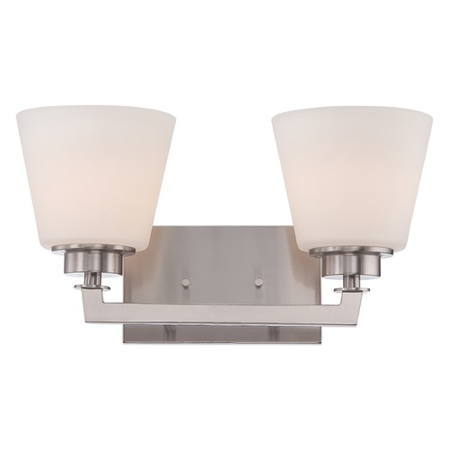 Nuvo Lighting Nuvo Lighting Mobili Brushed Nickel Bathroom Light 60/5452