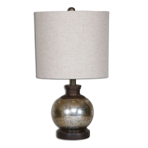 Uttermost Lighting Uttermost Arago Antique Glass Table Lamp 26208-1