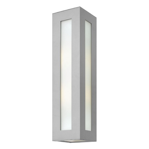 Hinkley Lighting Hinkley Lighting Dorian Titanium LED Outdoor Wall Light 2195TT-LED