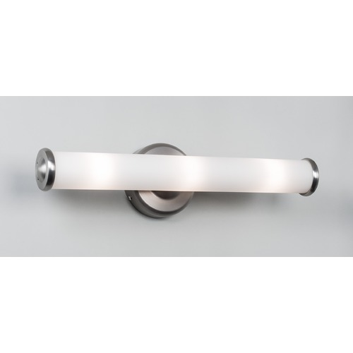 Illuminating Experiences Troll Satin Nickel Bathroom Light - Vertical or Horizontal Mounting TROLLN2