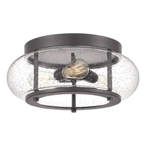 Quoizel Lighting Quoizel Lighting Trilogy 3-Light Old Bronze Flushmount Light TRG1616OZ