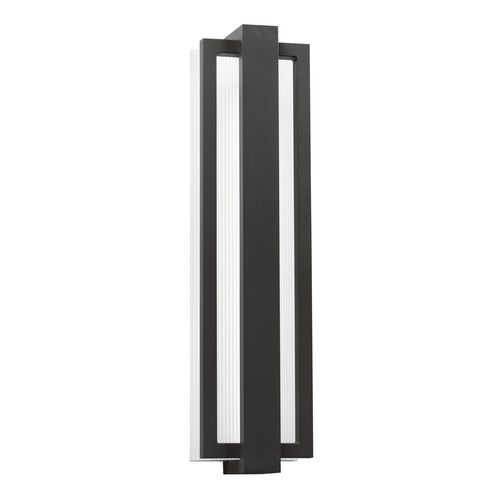 Kichler Lighting Kichler Lighting Sedo Satin Black LED Outdoor Wall Light 49435SBK