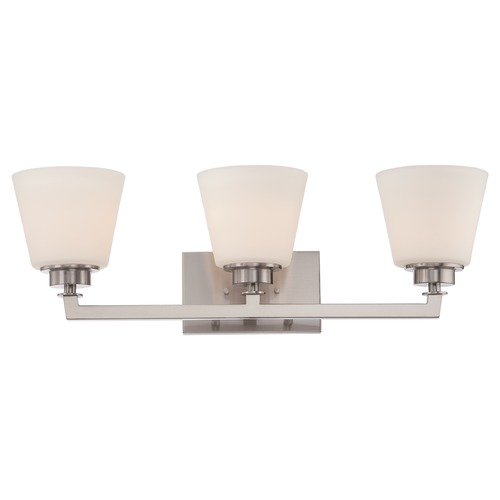 Nuvo Lighting Nuvo Lighting Mobili Brushed Nickel Bathroom Light 60/5453