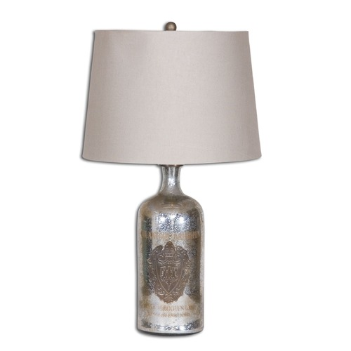 Uttermost Lighting Uttermost Borel Antique Glass Table Lamp 26209