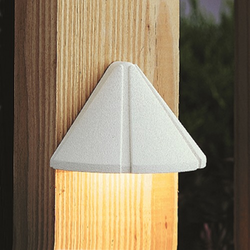 Kichler Lighting Kichler Lighting White LED Deck Light 15765WHT27R