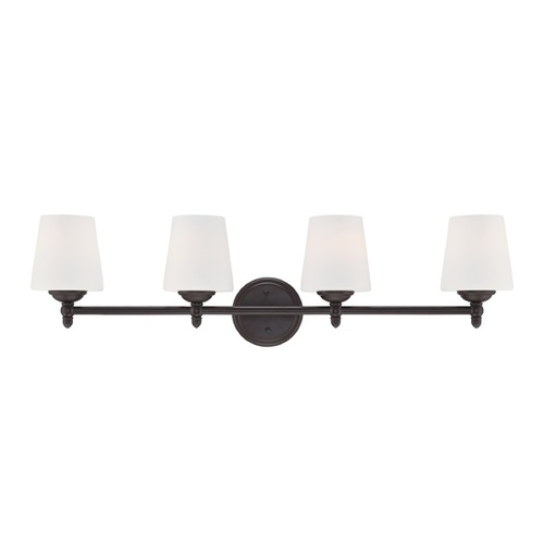 Designers Fountain Lighting Designers Fountain Darcy Oil Rubbed Bronze Bathroom Light 15006-4B-34