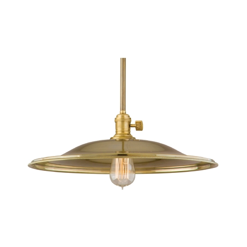 Hudson Valley Lighting Pendant Light in Aged Brass Finish 9001-AGB-ML2