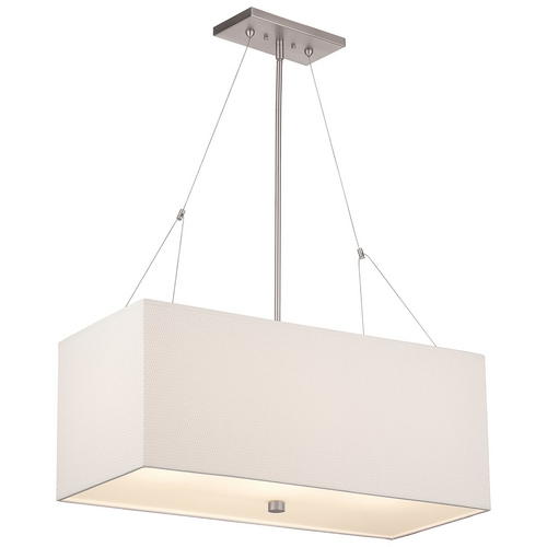 Philips Lighting Rectangular Shade Pendant F44336