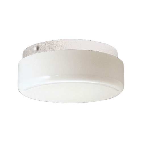 Progress Lighting Progress Close To Ceiling Light with White in White Finish P7375-30STRWB
