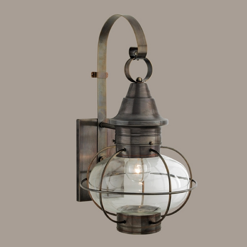Norwell Lighting Norwell Lighting Vidalia Onion Sienna Outdoor Wall Light 1609-SI-CL